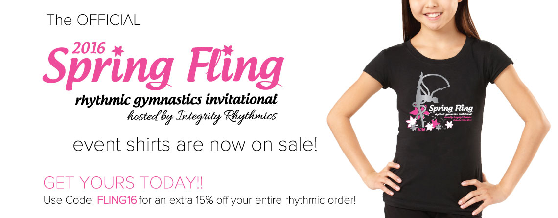 Spring Fling Rhythmic Gymnastics Invitational Event Tee