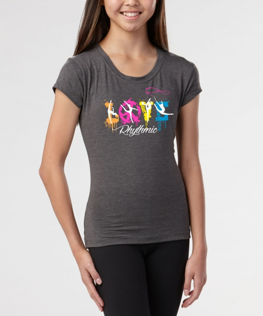 Love Splash </br> Charcoal Soft Tee