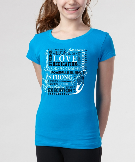 Word Scramble </br> Turquoise Soft Tee