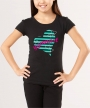 Striped Heart </br> Soft Tee