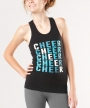 Cheer Diagonal <br> Racerback Tank