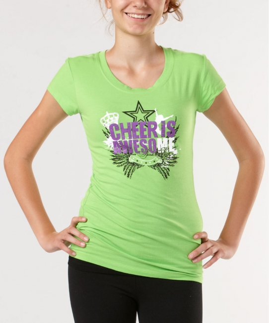 Cheer is Awesome </br>  Soft Tee