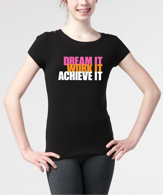 Dream It Achieve It </br> Soft Tee