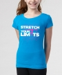 Stretch Your Limits </br> Turquoise Soft Tee
