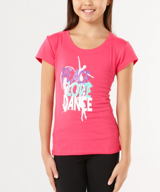Peace Love Dance </br> Soft Tee