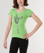 Rhythmic Word Silhouette - Lime