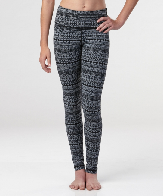 Sofia Aztec Pant</br> Black and Grey Print