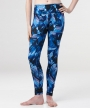 Mia Woodgrain Pant</br> Blue and Black Print