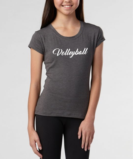 Volleyball Script </br> Soft Tee