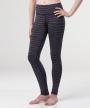 Katia Lined Legging </br>Navy & Coral Stripe