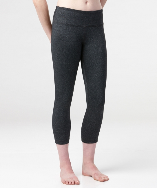 Sarah Classic Capri </br>Charcoal Heather
