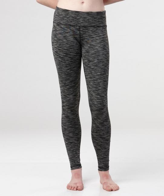 Paige Legging, Black/White Stripe
