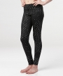 Ella Legging </br>Black & Silver Dot