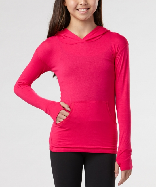 Hooded Sweatshirt</br> Magenta